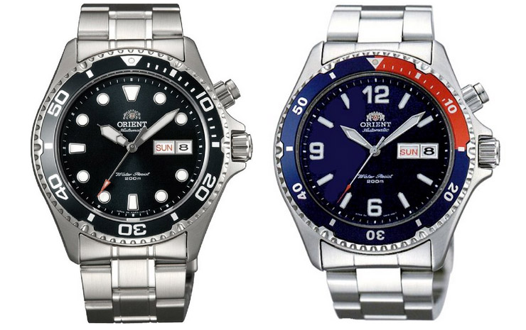 Best Automatic Dive Watch Under 200 Bucks - Orient Mako and Ray