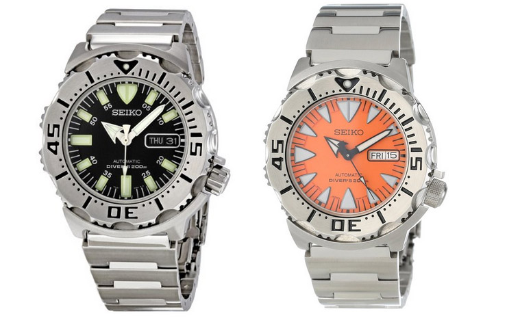 Best Automatic Dive Watch Under 200 Bucks - seiko monster
