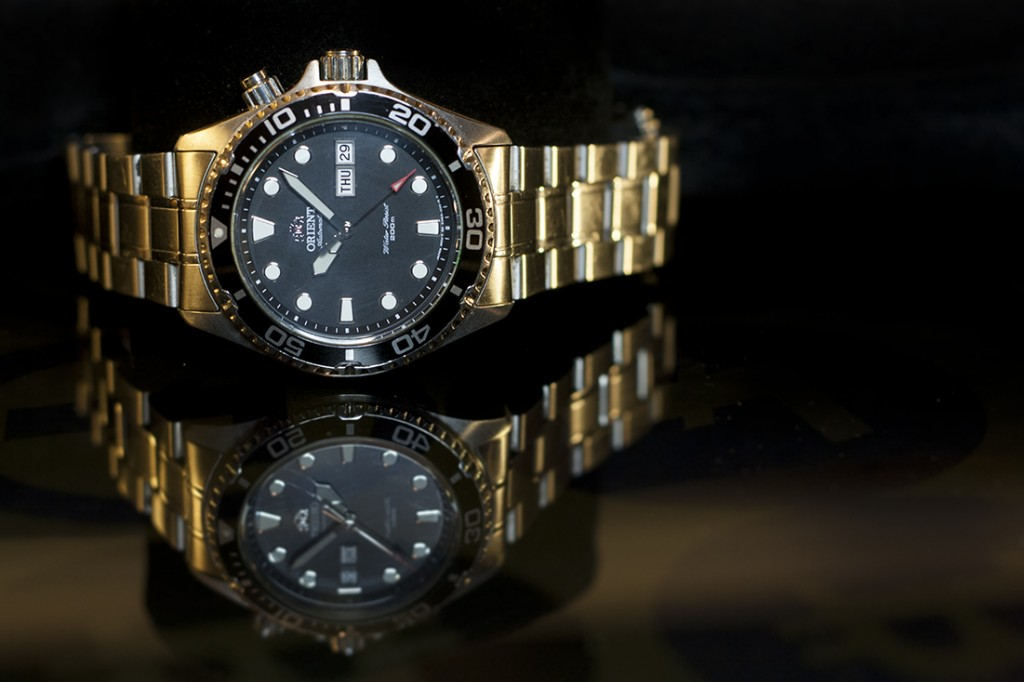 Orient Ray Review - Black Dial