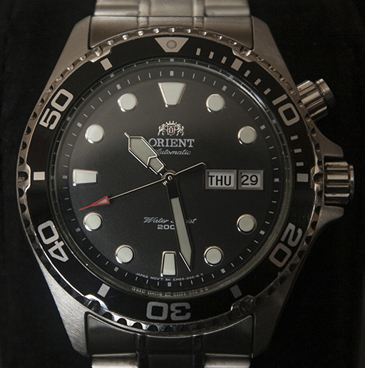 Orient Ray Review - Dial
