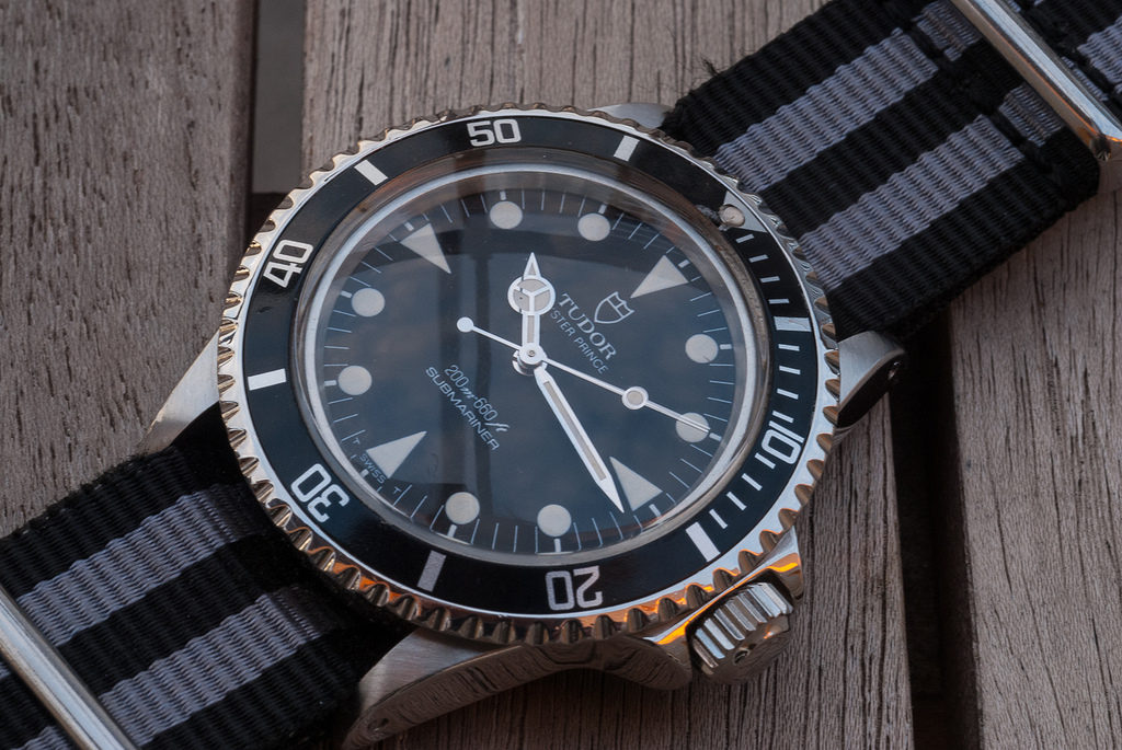 How to Choose a Good Dive Watch - Tudor Submariner with Triplock Screw-Down Crown