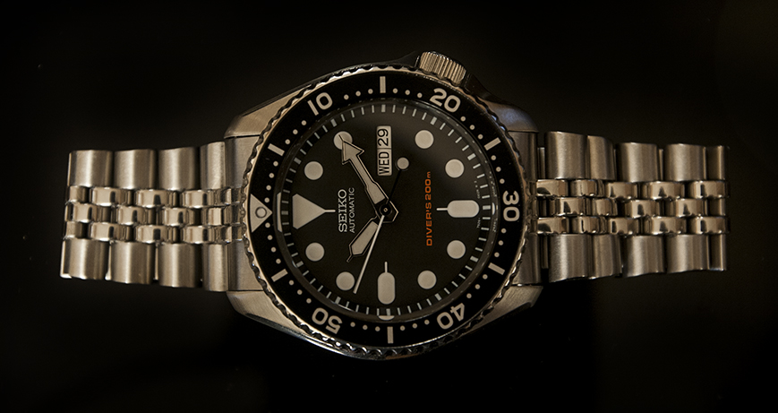 Seiko SKX007 Review - Bracelet
