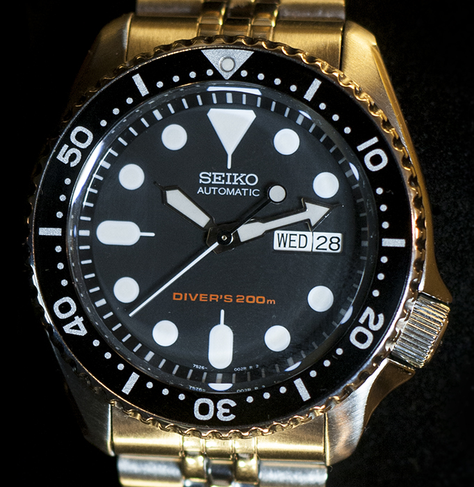 Seiko SKX007 Review - Dial