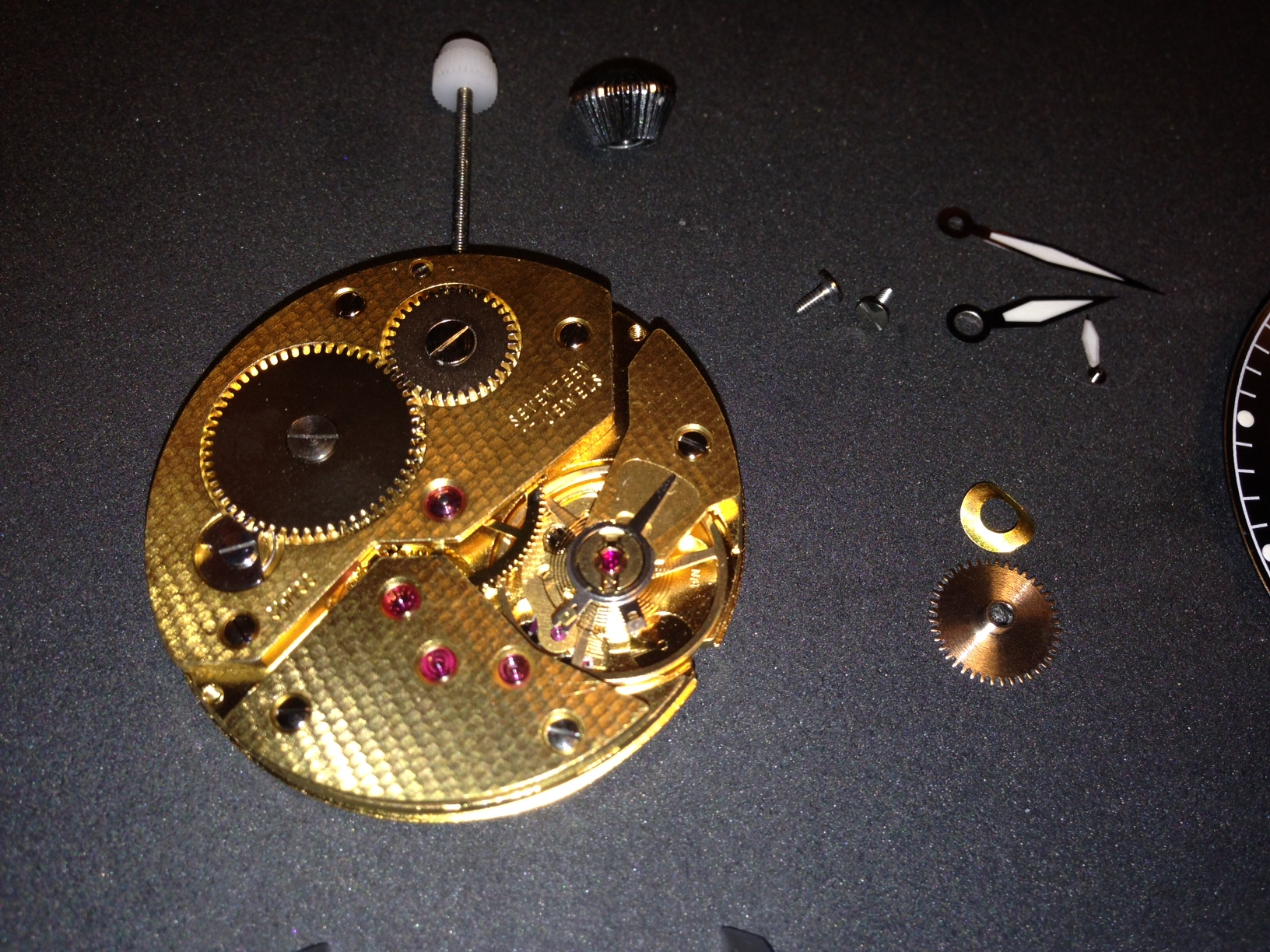 How to build your own mechanical watch - ETA 6497 Movement