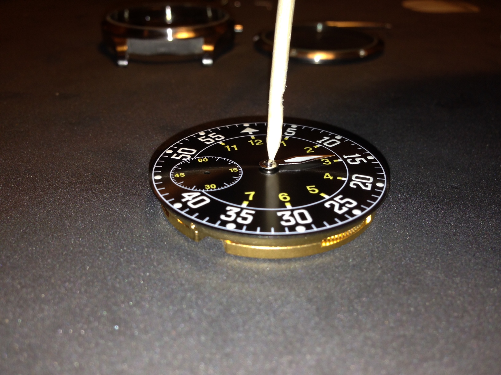 How to build your own mechanical watch - Attach the hour hand