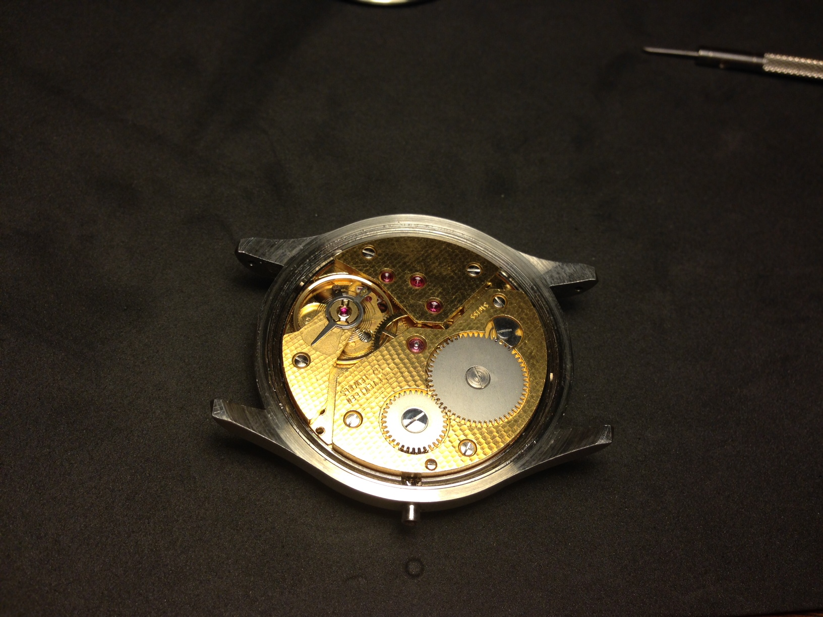 How to build your own mechanical watch - Install the movement