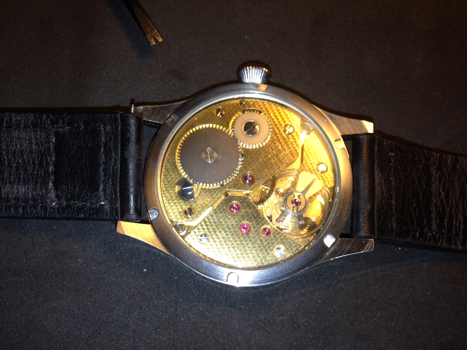 How to build your own mechanical watch - attach the straps